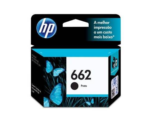 Cartucho HP Original 662 negro