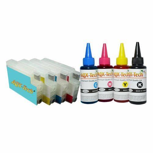 Cartuchos Recargables P/  HP 8100 8600 8620 (Cod. 950 / 951) + Tintas