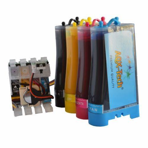 Sistema Continuo P/  EPSON Xp211 Xp201 Xp401 Con Tintas de Sublimación