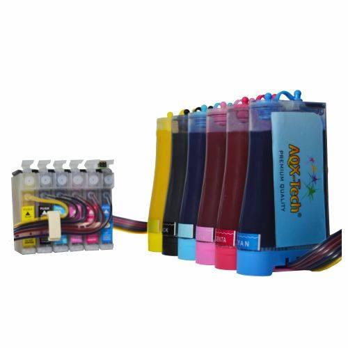 Sistema Continuo P/  EPSON T50 1430w 1410 R290 R270 Tx730 Con Tintas de Sublimación
