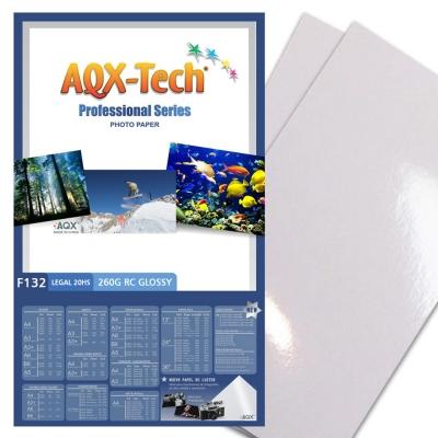 Papel Foto Pro RC Oficio 260grs por 20 Hojas AQX F132