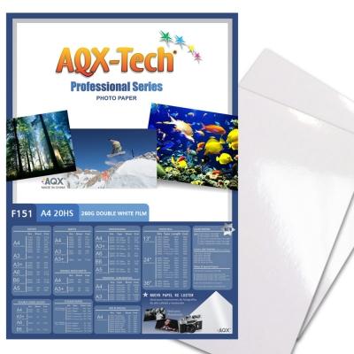 Papel RC BIFAZ PLASTIC F151 260grs 20 hojas A4
