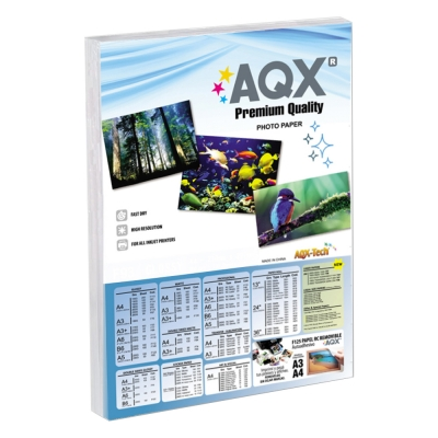Papel Glossy F162 180grs 100 hojas A3