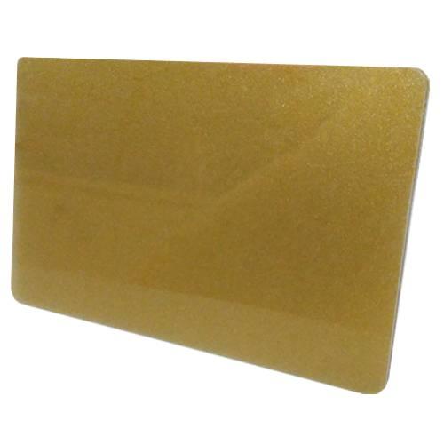 Tarjeta PVC Sublimable Dorada TS-5 x Unidad