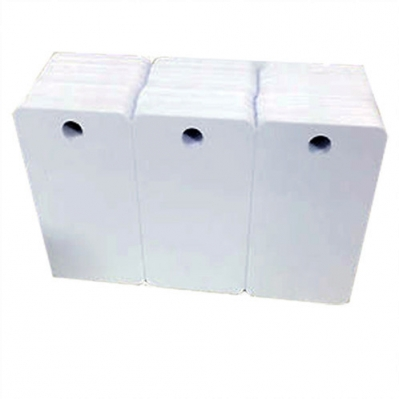 BLISTER Tarjeta PVC Inkjet Glossy 3 en 1 (tipo llaveros) TI-3 (230unid)