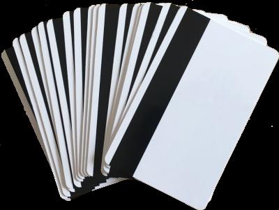 BLISTER Tarjeta PVC Inkjet Glossy con Banda Magnetica TI-4 (200u)