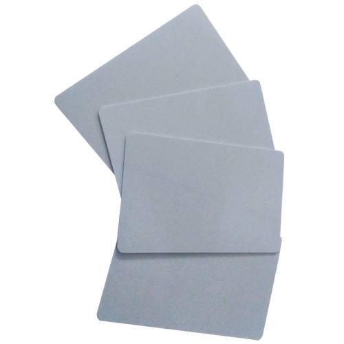 BLISTER Tarjeta PVC Sublimacion Plateada TS-4 (250unid)