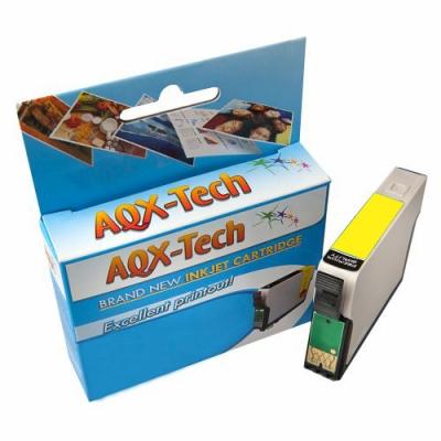 Cartucho Alternativo AQX T1334 Amarillo para Epson t25 tx123 125 135 320 420 235