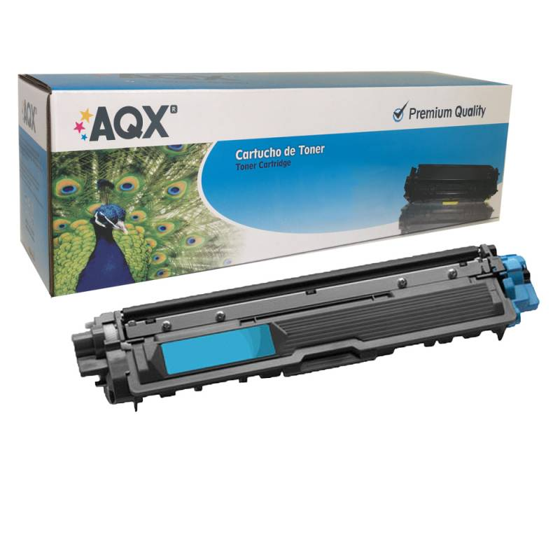 Cartucho Toner AQX Para Brother TN 221 241 251 261 291 CYAN