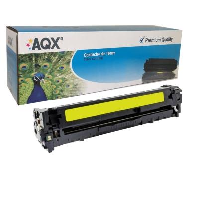 Toner Laser HP 414a Amarillo Alternativo AQX-TECH Sin Chip