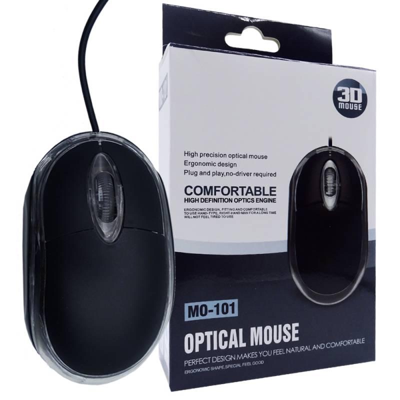 Mini Mouse Hikari M101 NEGRO USB