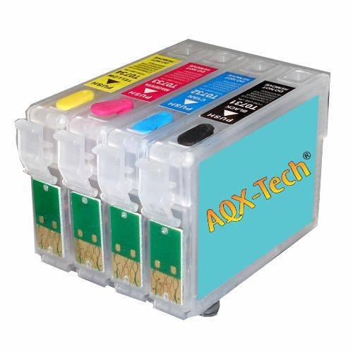 Cartuchos Recargables AQX Para Epson T23 / T24 / TX105 / TX115