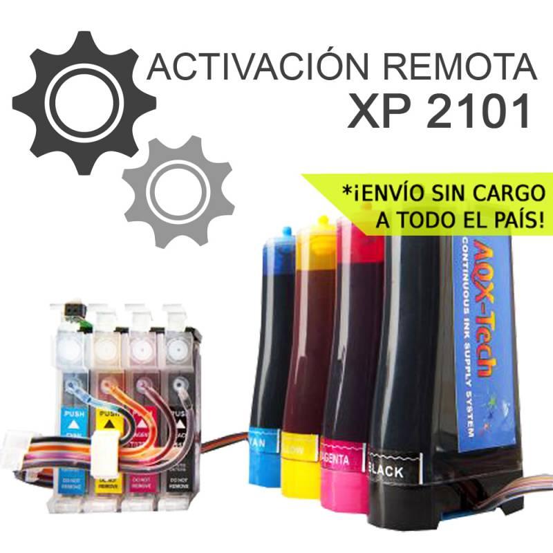 Sistema Continuo AQX Para Epson XP 2101 con Activacion Remota