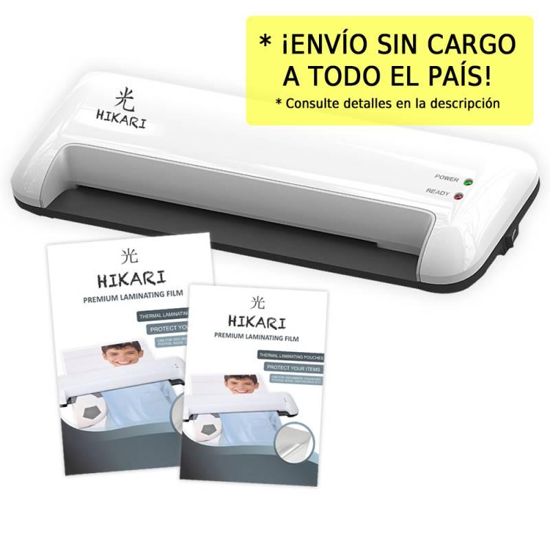 Laminadora - Plastificadora L13 Hikari A3 + Films