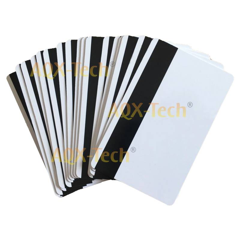 Combo x1000 Tarjetas PVC Inkjet Glossy con Banda Magnetica TI-4 (5 Blister)