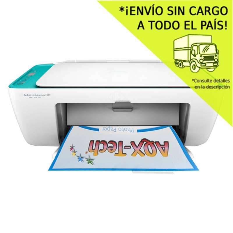 Impresora Multifuncion Wifi HP 2675