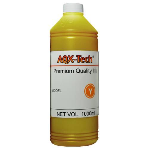 Tinta AQX de Sublimacion por 1 Litro Amarillo