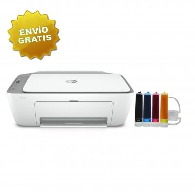 Impresora Hp Deskjet Ink Advantage Multifuncion 2775 Wifi + Sistema Continuo