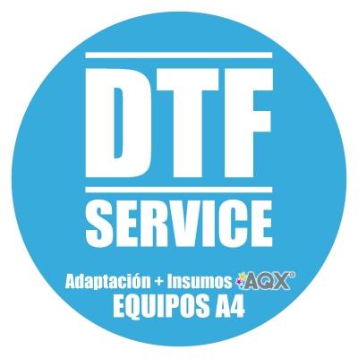 Service de Adaptacion de impresoras A4 para Estampado DTF + Insumos DTF Aqx