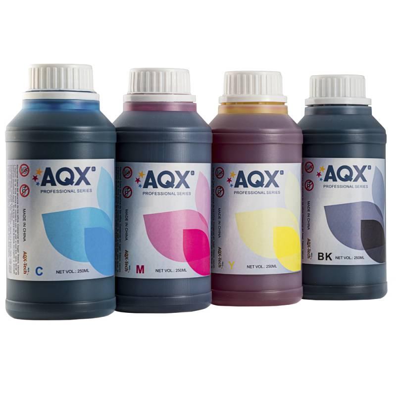 Combo Tinta Para Epson AQX-Tech 4 x 250ml Cod. EP50