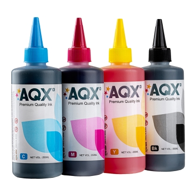 Combo Tinta Fotografica AQX-TECH Para Epson (4 x 250ML)