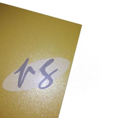 Placa sublimable de Aluminio 0,5mm dorada 15x20cm PRINTGATE
