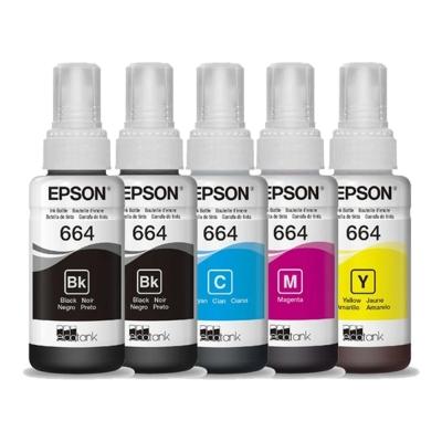 Tinta Original Epson POR 5 COLORES L1300