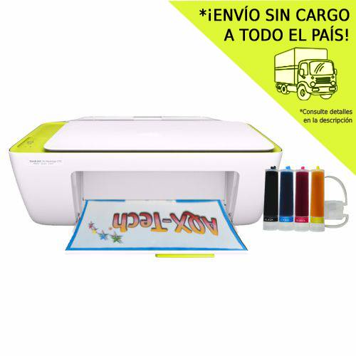 Impresora Multifuncion HP 2135 Con Sist Continuo AQX 200ml
