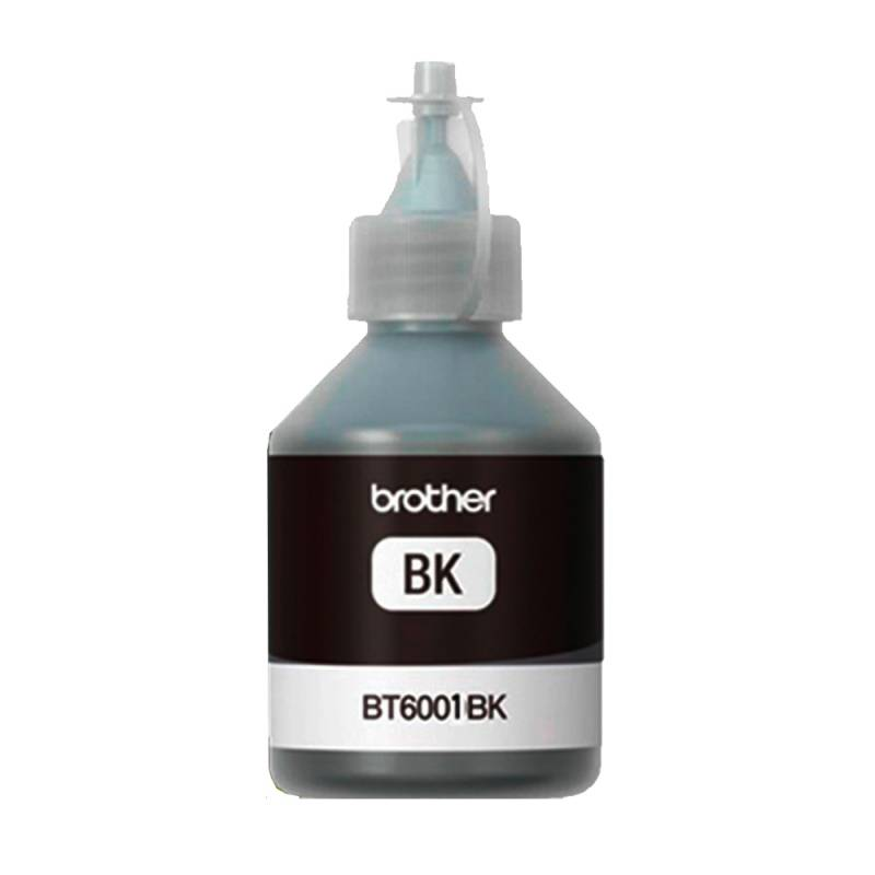 Tinta Original Brother NEGRA 108ml + Resma A6 AQX