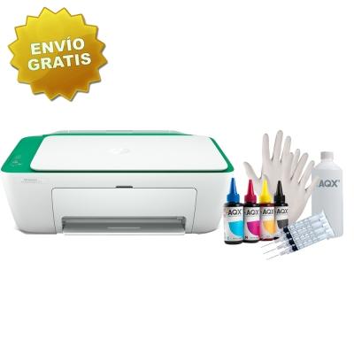 Impresora Hp Deskjet Ink Advantage Multifuncion 2375 USB + Kit de Recarga Alternativo AQX