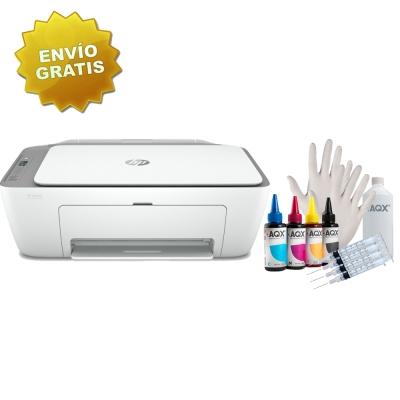 Impresora Hp Deskjet Ink Advantage Multifuncion 2775 Wifi + Kit de Recarga Alternativo AQX