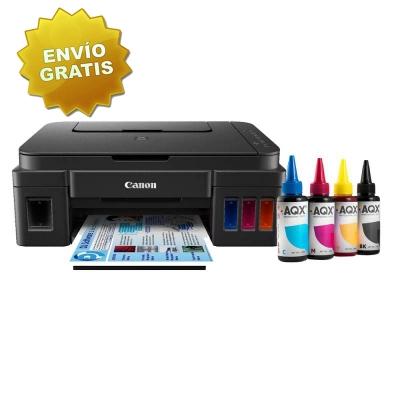 Impresora Multifuncion Canon Pixma G3100 + 400ml TINTA AQX-TECH
