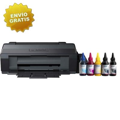 Impresora Sublimacion A3 Epson L1300 Sist. Cont. Orig. Con AQX Ink Subli x 500ml