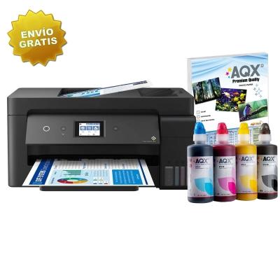 Impresora Epson L14150 Multifuncion A3 Sistema Continuo Original + 1 Litro Tinta AQX-TECH Sublimacion