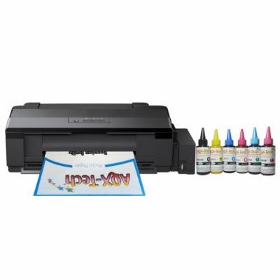 Impresora Para Sublimacion A3 L1800 CD DVD SC Orig. + Resma y 600ml AQX-Tech Ink Sublimation