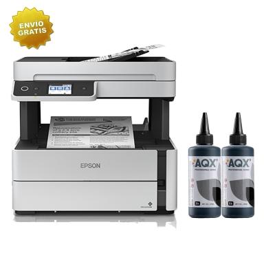 Impresora Epson M3170 ECOTANK + 500ml TINTA AQX-Tech
