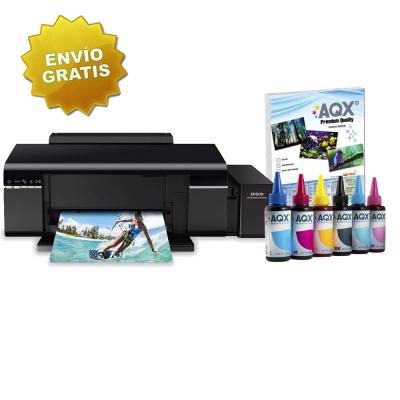 Impresora Epson L805 Sistema Continuo Original + 600ml Tinta AQX-TECH