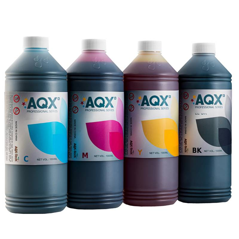 Combo Tinta Para HP AQX 4 Litros (4 x 1000ml) Cod. H1 / H2
