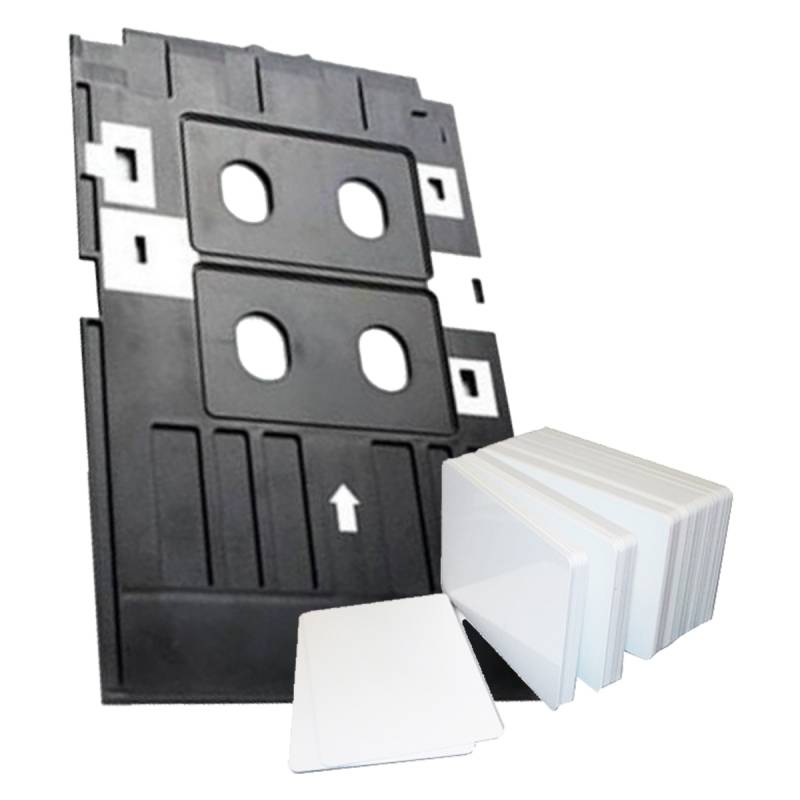 Bandeja Para Tarjetas de PVC Para Epson L805 + 50 Tarjetas PVC Glossy