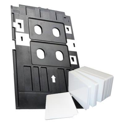 Combo Bandeja Para Tarjetas de PVC Para Epson L805 + 50 Tarjetas PVC Glossy