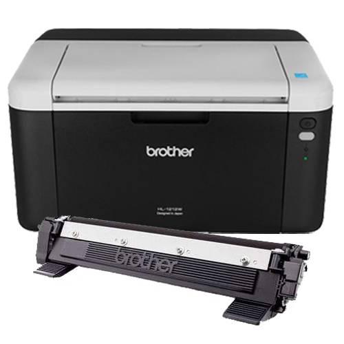 Impresora Laser Brother Wifi HL 1212 + 1 Toner Orig Extra